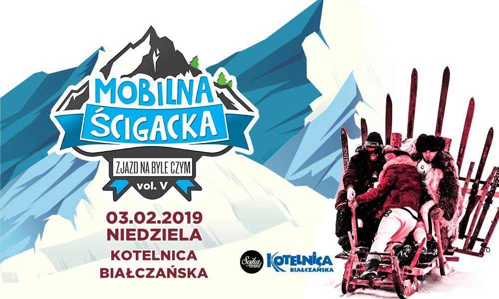 Mobilna Ścigacka 2019 Białka Tatrzańska- plakat