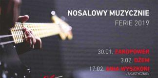 Nosalowy Muzycznie 2019 - plakat