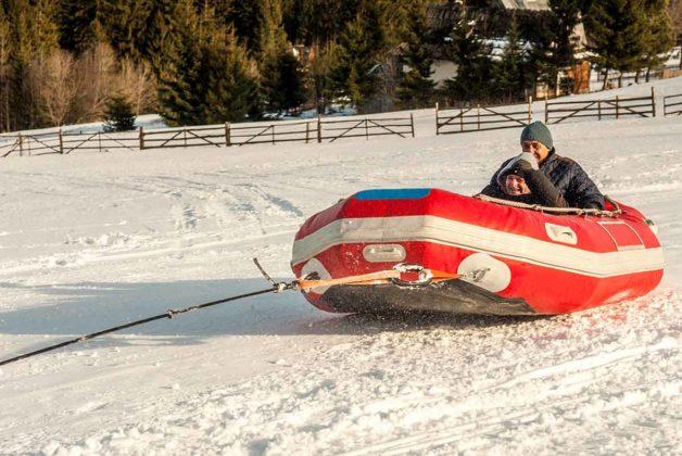 Snow zabawa w Zakopanem