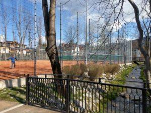 Park Miejski - kort tenisowy