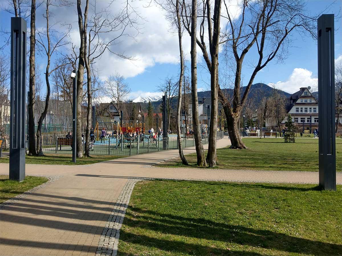 Park Miejski - plac zabaw