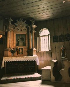 Stary Kościółek ołtarz