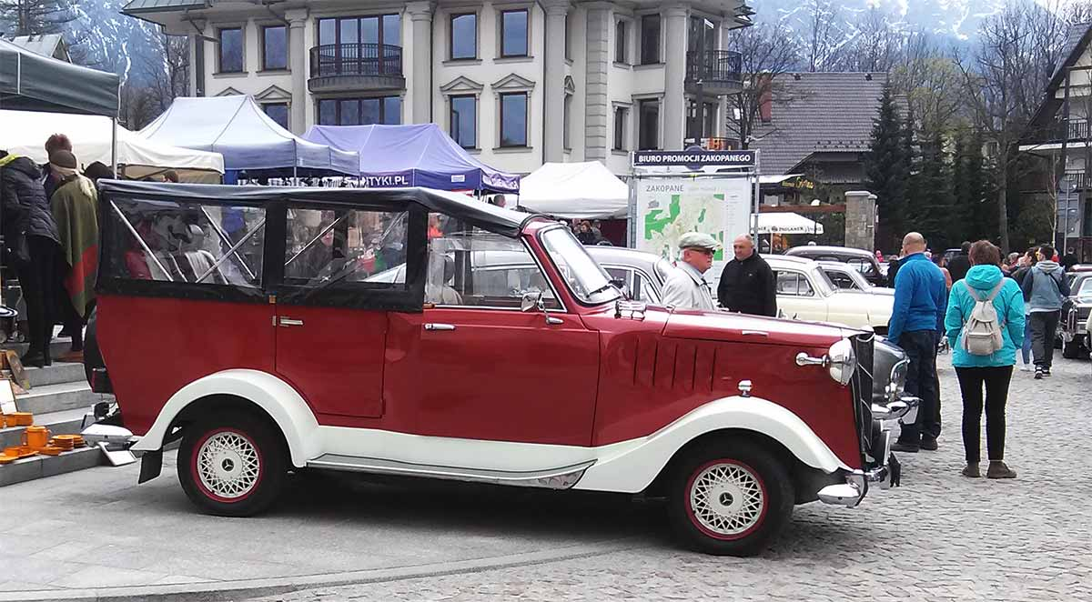 Tatrzański Zlot Pojazdów Zabytkowych