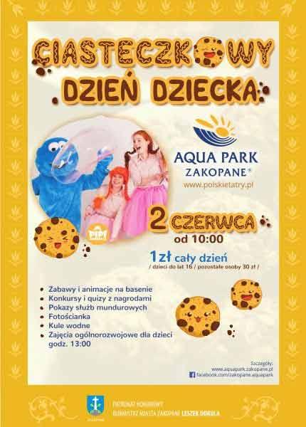 Ciasteczkowy Dzień Dziecka - Aquqpark