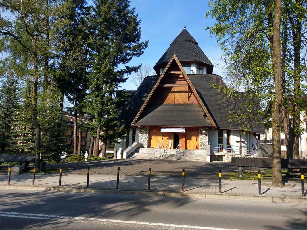 Kościół pw. Miłosierdzia Bożego na Chramcówkach