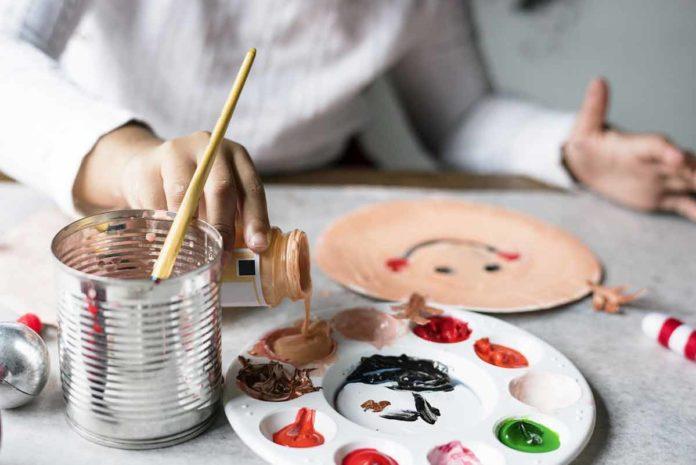 Warsztaty plastyczne dla dzieci, malowanie