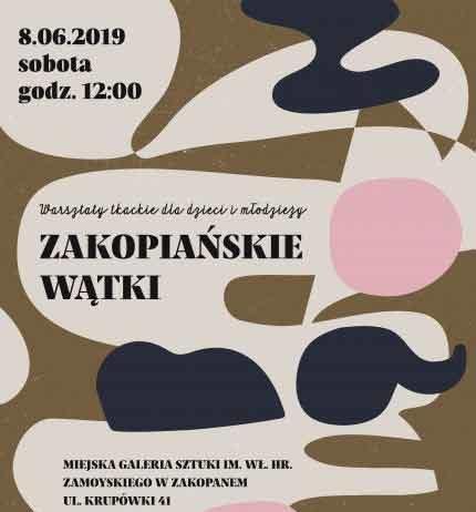 """Warsztaty tkackie dla dzieci i młodzieży """"Zakopiańskie Wątki"""""""