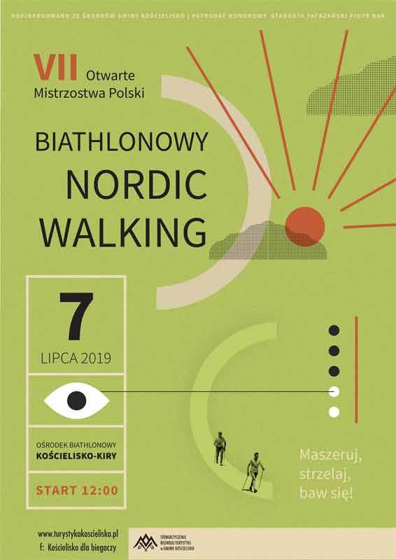VII Otwarte Mistrzostwa Polski w Biathlonowym Nordic Walking