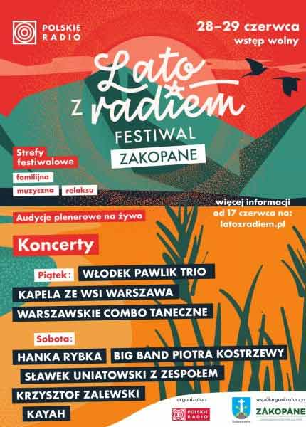 Lato z Radiem Festiwal 2019 - Zakopane