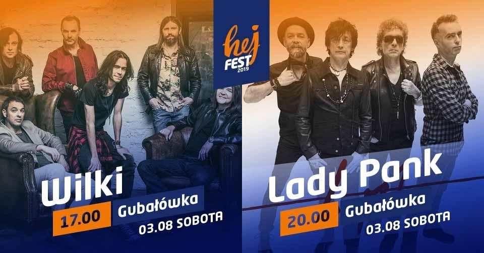 Hej Fest 2019 – Wilki i Lady Pank