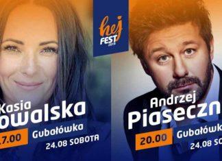 Koncert Kasia Kowalska i Andrzej Piaseczny - Hej Fest 2019