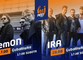 Hej Fest 2019 – koncert zespołów Lemon i Ira