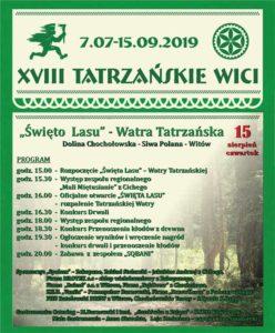 Święto Lasu - Watra Tatrzańska na Siwej Polanie