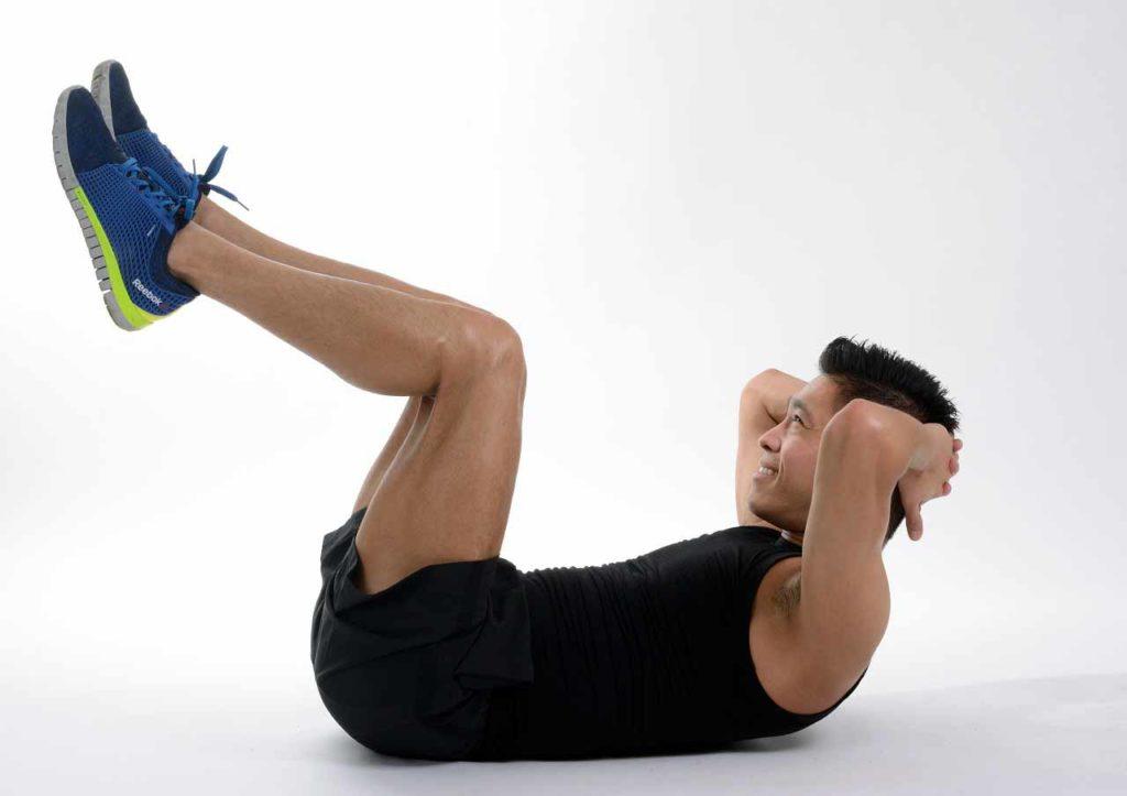 Ćwiczenia podnoszące sprawność, brzuszki