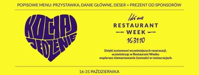 Resturant Week, plakat