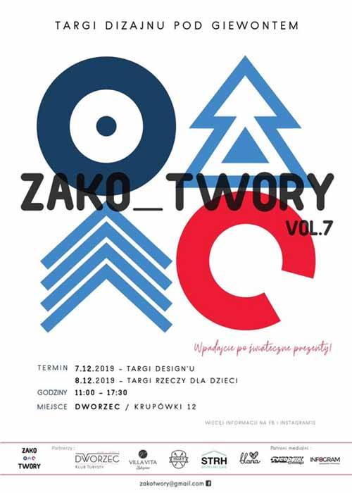 Zako_Twory vol.7 Targi Dizajnu pod Giewontem, program 2019