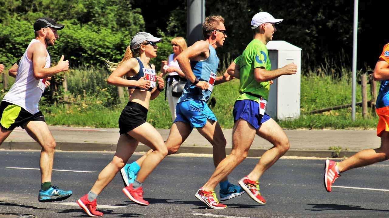 Zawody biegowe w Zakopanem