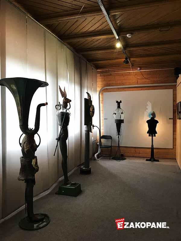 Galeria Hasiora w Zakopanem, ekspozycja
