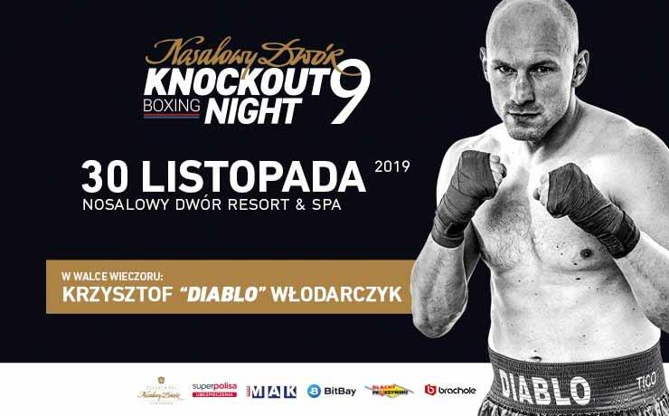 Knockout Boxing Night 9, plakat