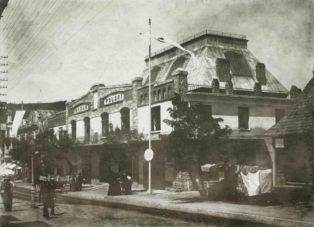 Miejska Galeria Sztuki w Zakopanem, budynek galerii, ul. Krupówki
