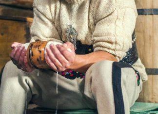 Muzeum Oscykpa, pokaz wyrobu oscypka