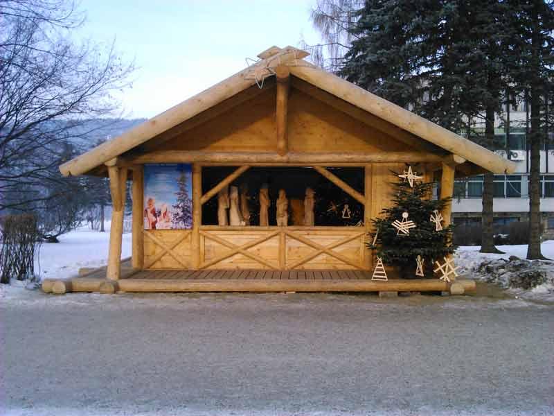Szopka Bożonarodzeniowa przy Urzędzie Miasta Zakopane