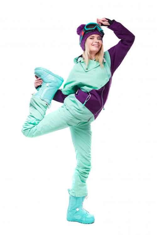 Rozgrzewka i trening narciarza