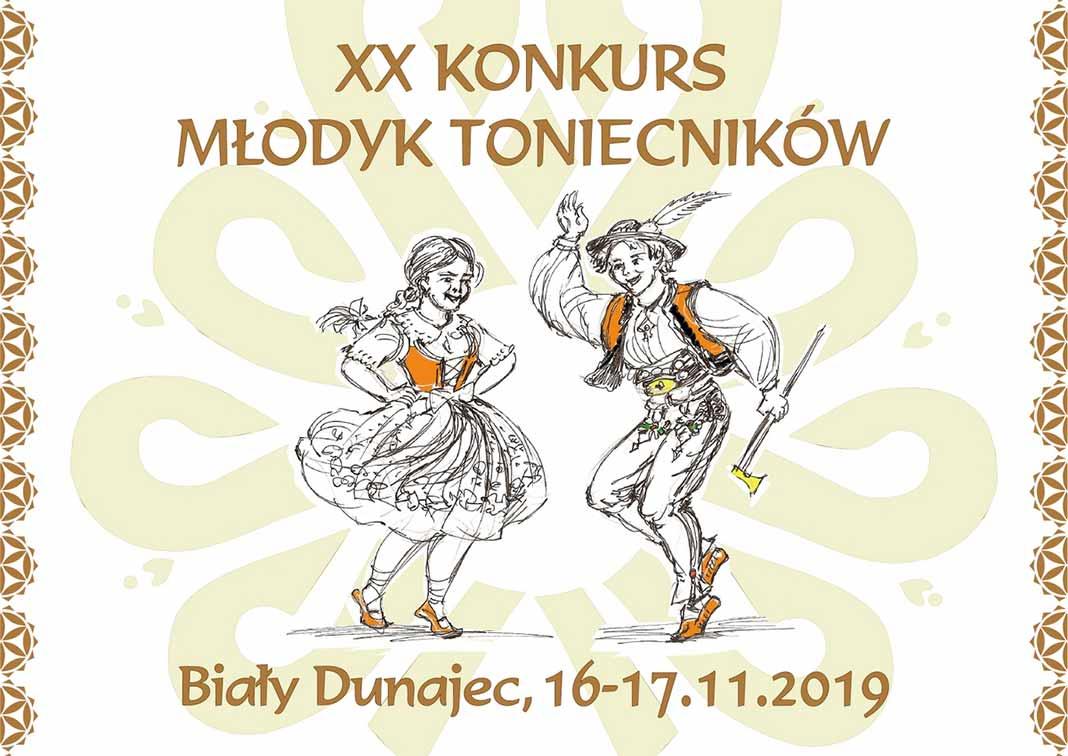 XX Konkurs Młodyk Toniecników, plakat
