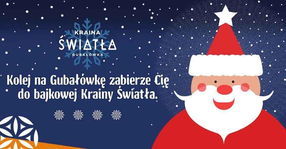 Święty Mikołaj na Gubałówce w Krainie Światła
