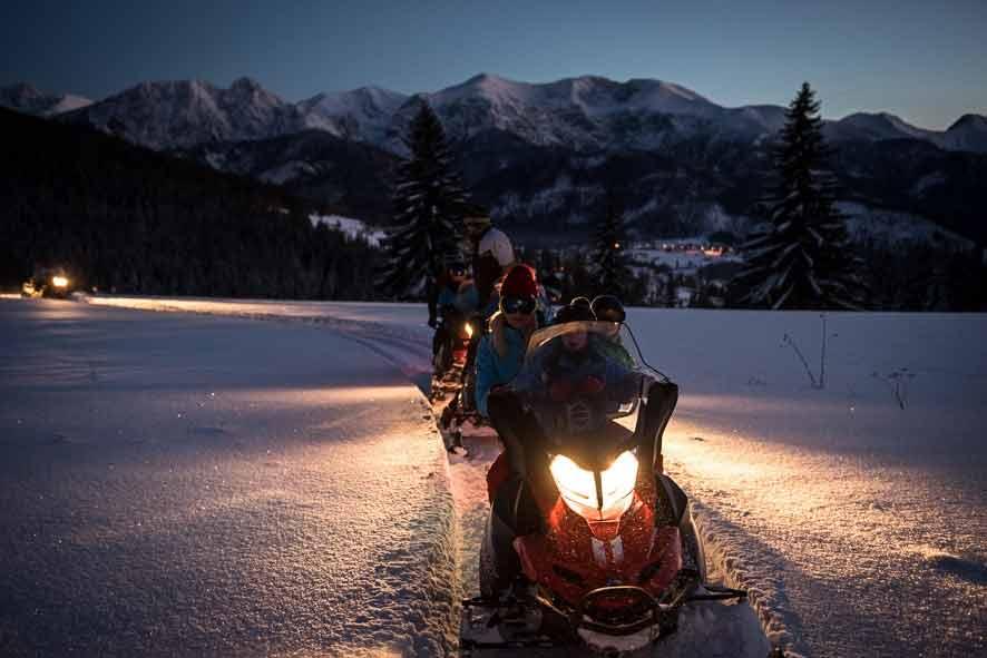 Snowdoo Adventure, skutery śnieżne