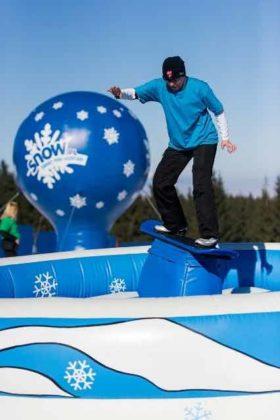 Snowdoo Adventure, symulator snowboardu