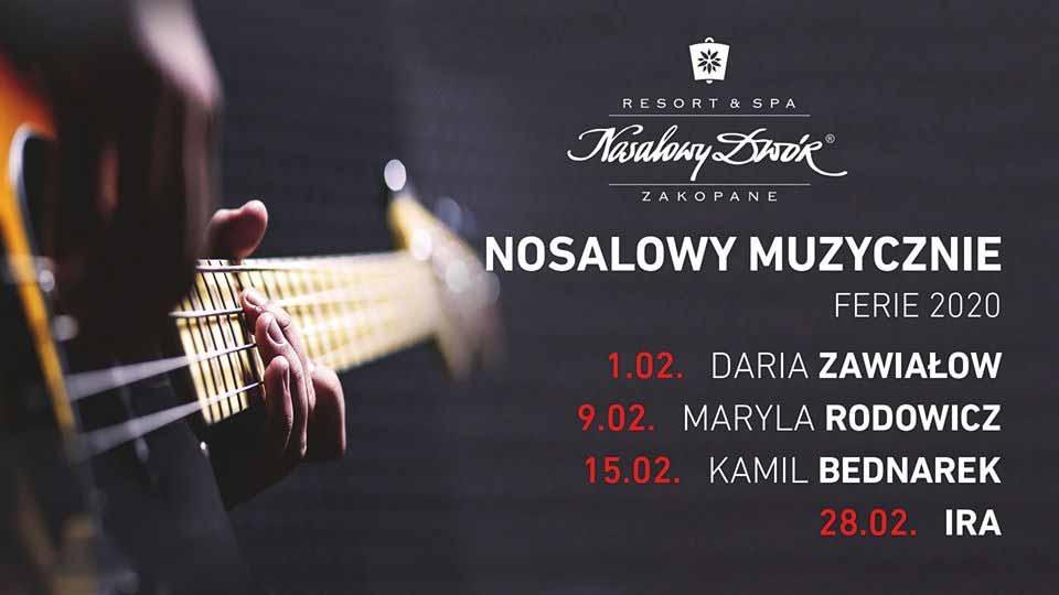 Nosalowy Muzycznie 2020, plakat