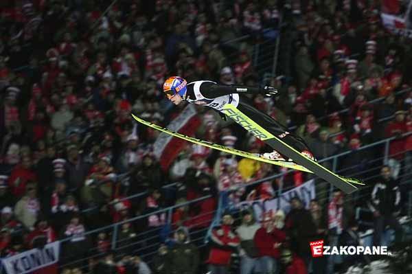 Puchar Świata w Skokach Narciarskich w Zakopanem, skoczek narciarski