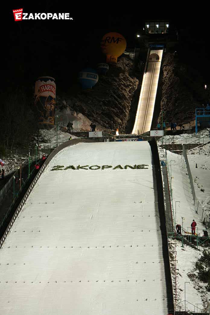 Puchar Świata w Skokach Narciarskich w Zakopanem, skocznia narciarska