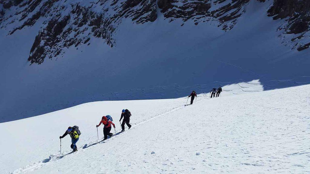Skitoury, skiturowa wyprawa