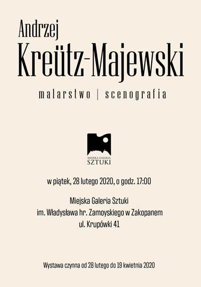 Andrzej Kreütz-Majewski, Salon Marcowy 2020, plakat