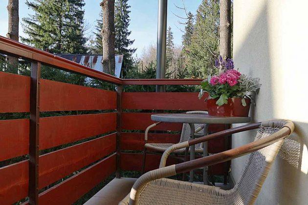Apartament Kuźnice - balkon