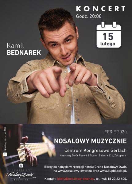 Koncert Kamila Bednareka w Nosalowym Dworze