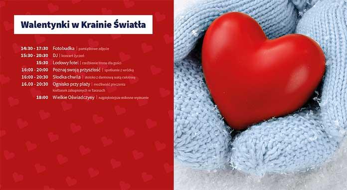 Walentynki w Krainie Światła, program
