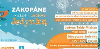 Radiowa Jedynka w Zakopanem, Polana Szymaszkowa program 2020