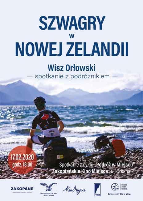 Szwagry w Nowej Zelandii, plakat