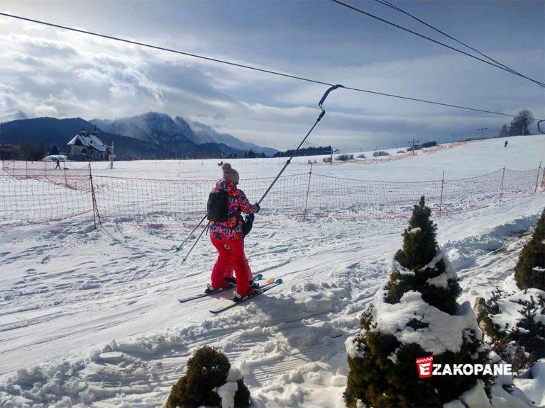 Kameralny i urokliwy wyciąg narciarski Ugory