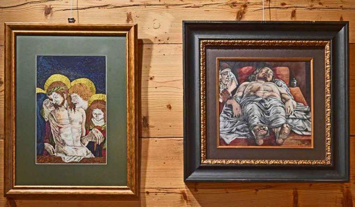 Joanna Galica - Dorula, Zmarły Chrystus i zdjęcie z krzyża