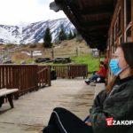 Koronawirus - turyści na szlaku, Tatry Hala Kondratowa
