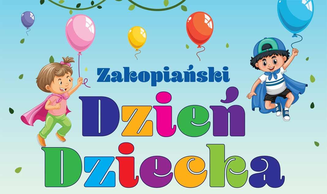 Zakopiański Dzień Dziecka, plakat 2020