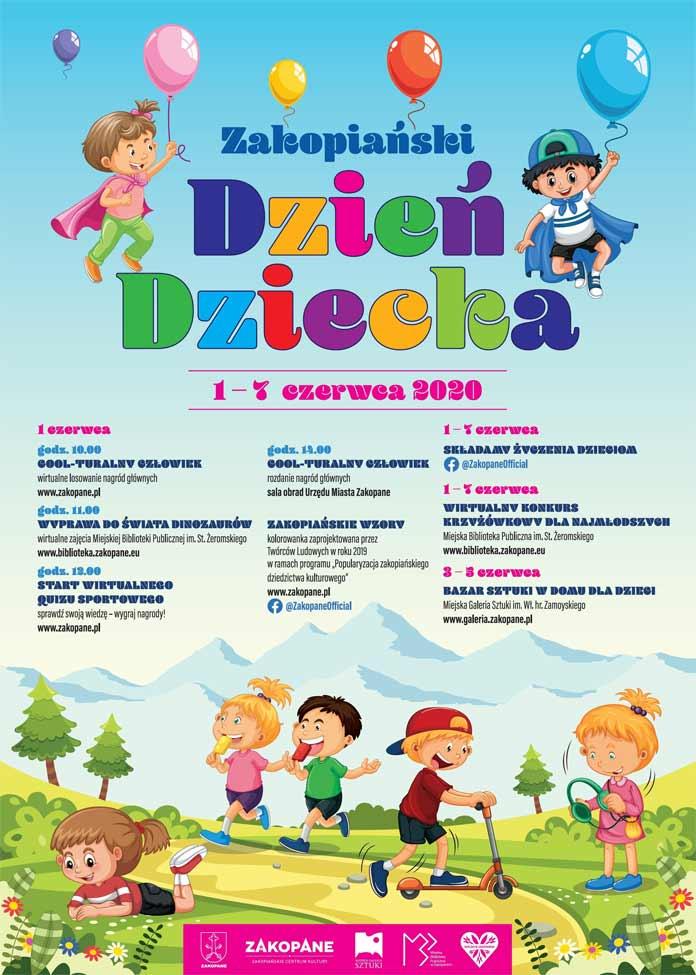 Zakopiański Dzień Dziecka - program 2020