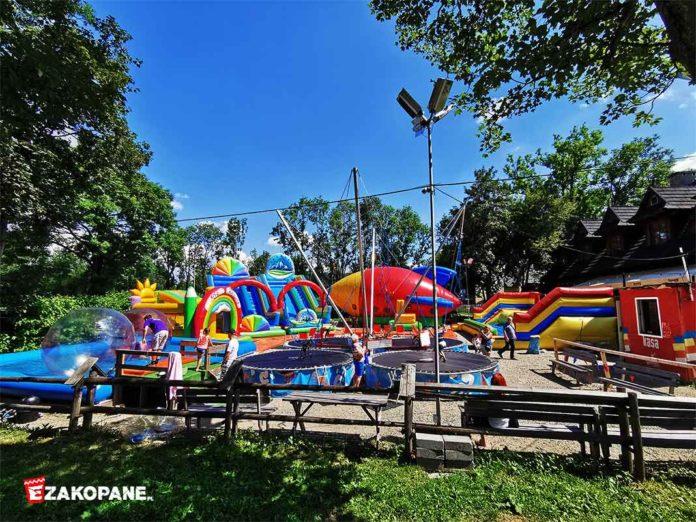 Park rozrywki Letnia Zabawa - Zakopane Krupówki
