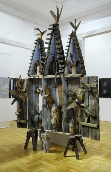 Józef Wilkoń, rzeźba